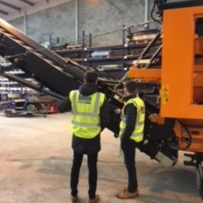 Blue Machinery (Scotland) Limited Provide Barr Environmental Limited staff with Familiarisation Training.