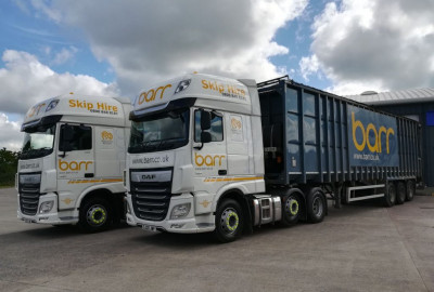 Introducing Barr's two new DAF XF artic units.